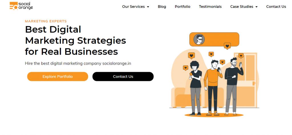 social orange digital marketing company