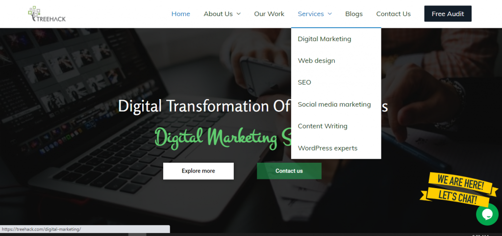 Treehack digital marketing company